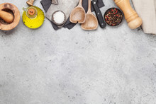 Cooking Utensils And Spices