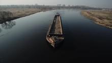 Long Barge For Sand Transporta...
