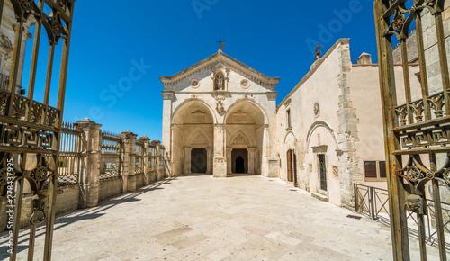 Photo Sanctuary of San Michele Arcangelo in Monte Sant'Angelo, ancient village in the Province of Foggia, Apulia (Puglia), Italy