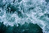 Abstrakta oceanu fala macha wodnego tło. - 278440316