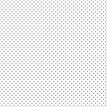 Black Polka Dot Seamless Pattern. Vector Illustration