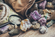 Mineral Stones Collection And ...