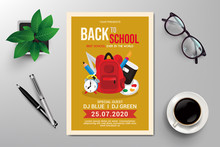 Back To School Flyer Template ...