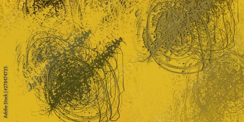 In de dag Vrouw gezicht Abstract sketch random pattern. Chaos and variety. Modern art drawing painting. 2d illustration. Digital texture wallpaper. Artistic sketch draw backdrop material.