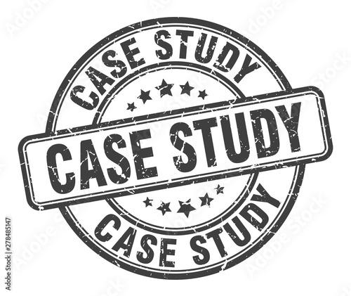 case study stamp. case study round grunge sign. case study Fototapet