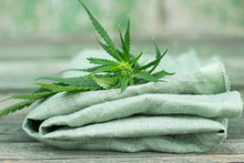 Textile Made Of Cannabis And G...
