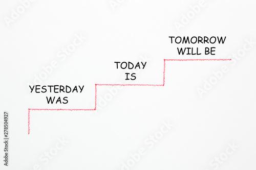 Photo  Yesterday Today Tomorrow