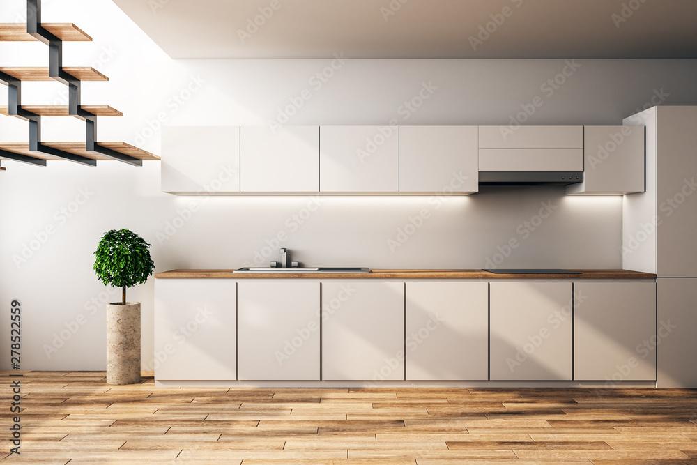 Fototapety, obrazy: Modern loft kitchen interior