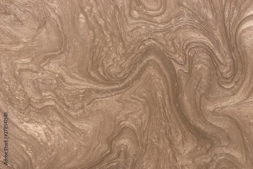 Türaufkleber Makrofotografie brown painted metallic background texture