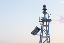 Solar Powered Lighthouse In Th...