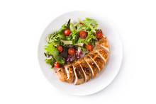 Grilled Chicken Breast With Ve...