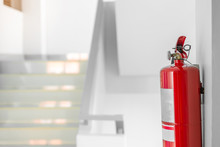 Fire Extinguisher System On Th...