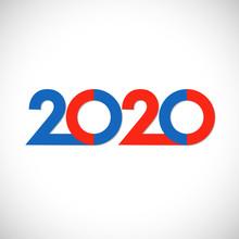 2020 Xmas Numbers. Bright Logo...