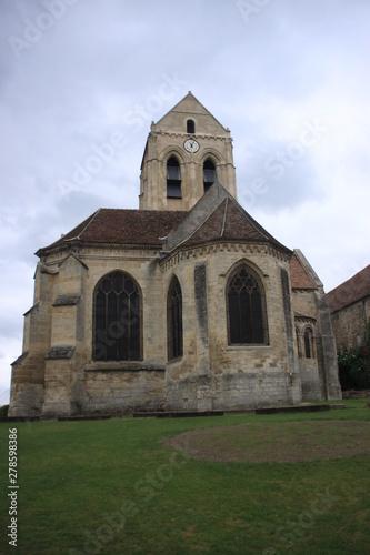 Photo Auvers: l'église