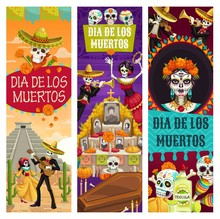 Day Of Dead Dia De Los Muertos Holiday Celebration