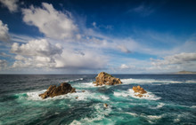 Ocean And Sky, Ferrol, Spain