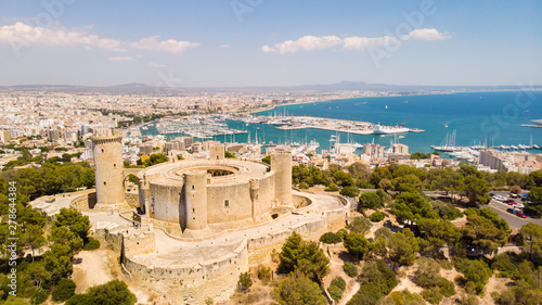 Canvas Palma cityscape
