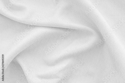 Design for blog with monochrome fabric texture background top view space for text