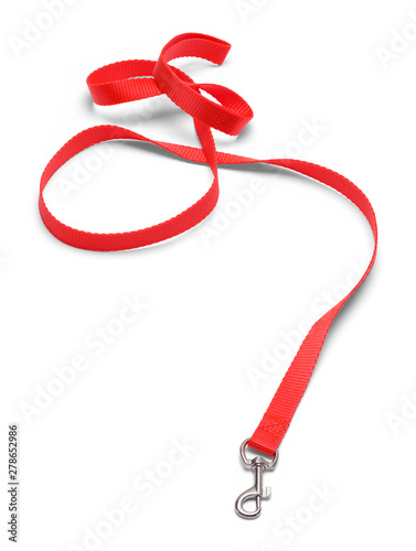 Dog Leash Red