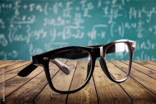 Glasses. Canvas Print
