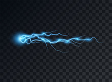 Electric Blue Discharge, Flash...