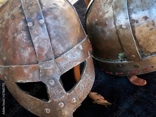 Fotografie, Obraz Helmets rusty