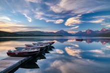 Apgar Village Lake McDonald Su...