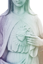Heart Of Virgin Mary. Immacula...