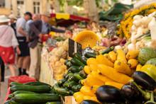 Fresh Vegetables On The Street...