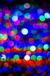 canvas print picture - Abstract blur bokeh circles use it to texture background