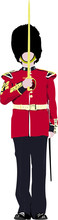 Vector Image Of Beefeater Isol...