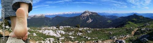 Carta da parati  randonnée en montagne - alpage du charmant som en chartreuse