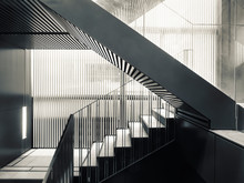 Stairs Step Steel Staircase Architecture Details Modern Building