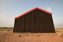 Corrugated Iron Hut Rye Harbou...