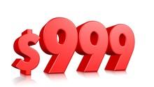 999$ Nine Hundred Ninety Nine ...
