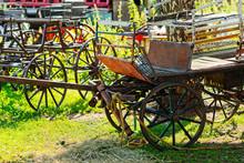 Old, Used Horse Carts Or Runab...