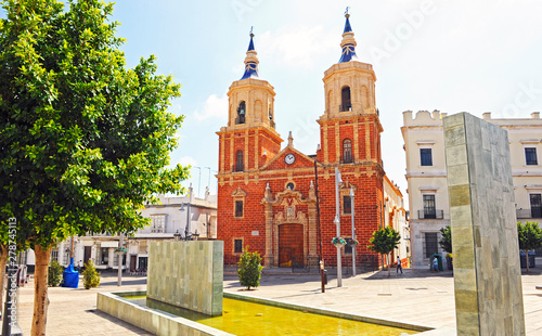 Church of St Peter and St Paul (San Pedro y San Pablo) in San Fernando, province of Cadiz, Spain