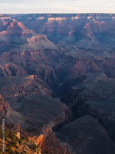Canvas Prints Mountains Sunrise on Colorado