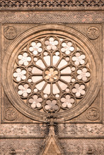 Round Window With Stained Glas...