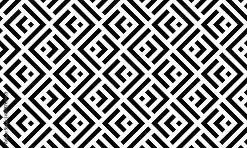 Fotografie, Obraz Abstract geometric pattern