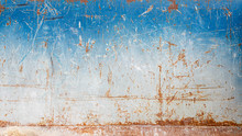 Scratched Rusty Metal Wall Texture