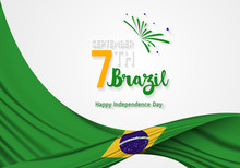 Brazil Independence Day. Septe...