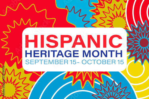 Photo  Hispanic Heritage Month September 15 - October 15