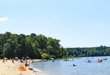 Sandling Beach At Falls Lake 2