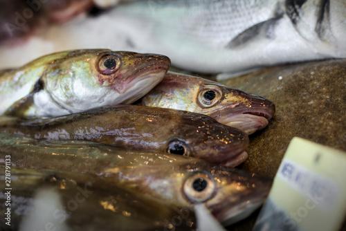 Fotobehang fish market