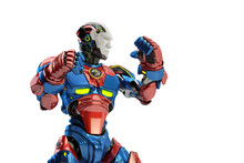 Blue-red Robot Boxer In Rack S...