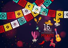 Mexico Independence Day (Día De La Independencia).