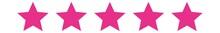 5 Stars Pink   Customer Rating...