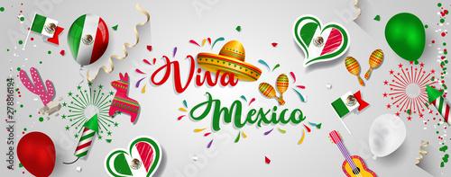Photo  Mexico Independence Day (Viva Mexico).