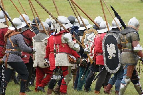 Obraz Bitwa pod Grunwaldem - fototapety do salonu